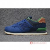 New Balance ニューバランスML574NEA  スニーカー Gunmetal with Raven & BLUE ML574 NEA