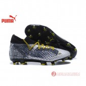 2018 FIFA World Cup フューチャー 18.1 NETFIT LE FG/AG Puma Future 18.1Netfit Griezmann hyFG 104613-01 グレー/コアブラック Grey / Core Black 男/ メンズ サッカースパイク 送料無料