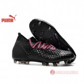 2018 FIFA World Cup フューチャー 18.1 NETFIT LE FG/AG Puma Future 18.1 Netfit Low hyFG 104488-02-pink コアブラック×ピンク Black-Pop Pink 男/ メンズ サッカースパイク 送料無料